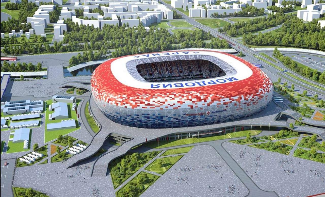 BIM metodologija u projektiranju i izgradnji stadiona za FIFA 2018 Svjetsko prvenstvo u Rusiji