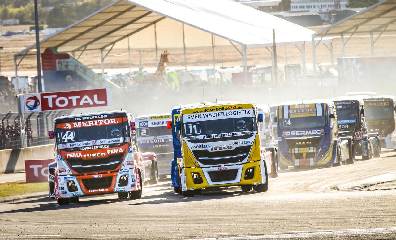 Iveco slavil v prvenstvu Truck Race
