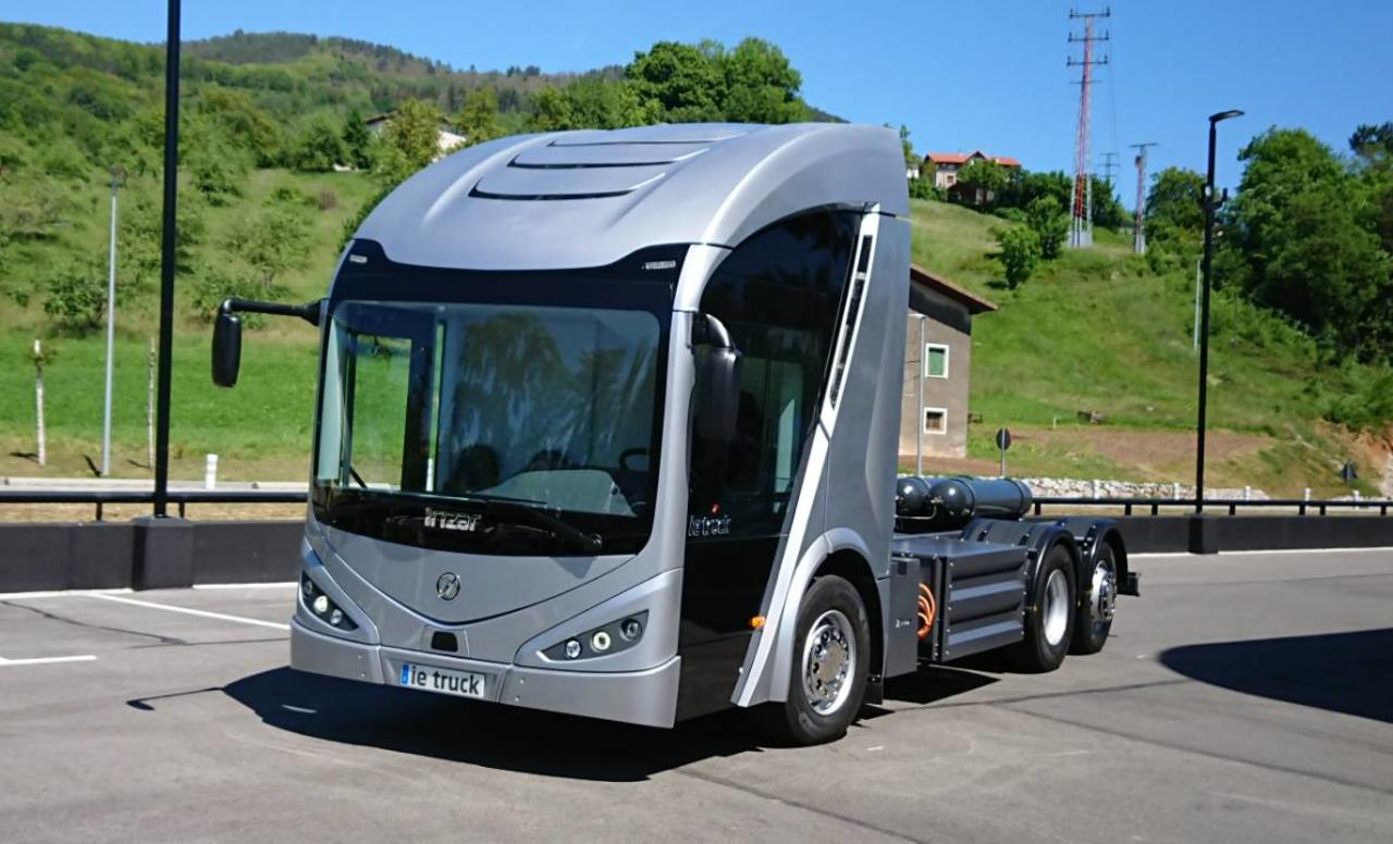 Irizar predstavio električni kamion
