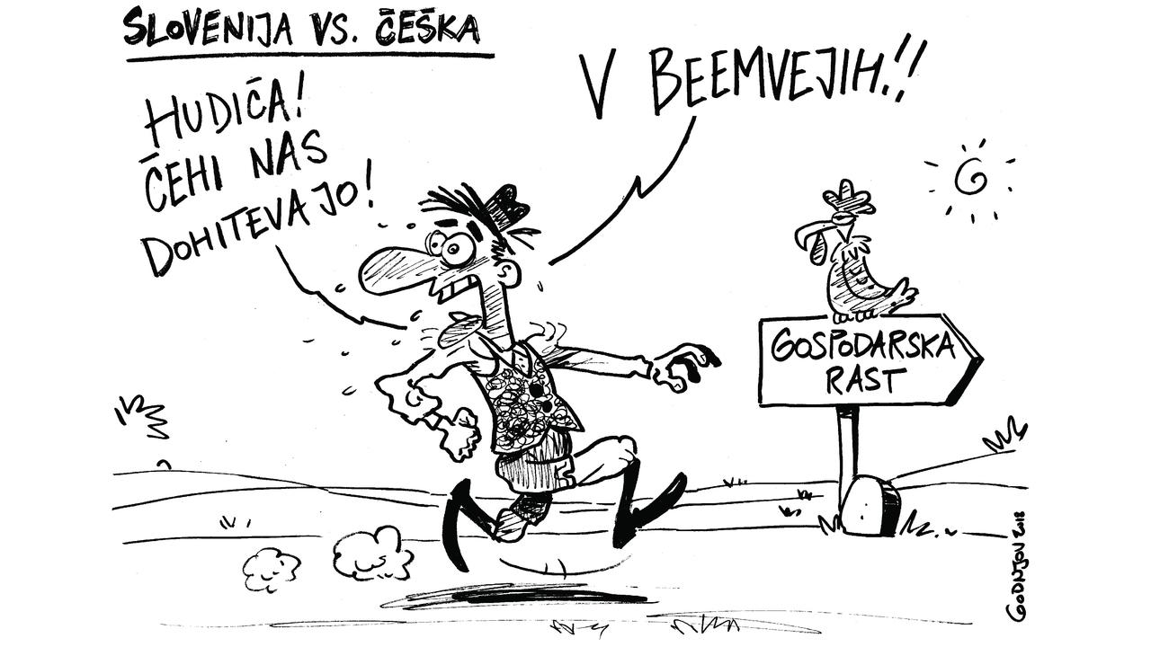 Zakaj nas prehiteva vse več Čehov v beemvejih?