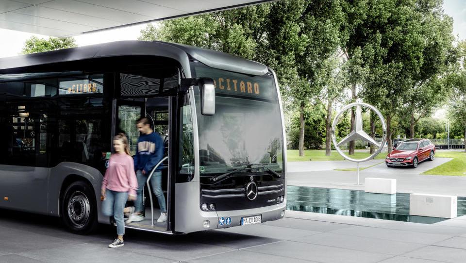 Mercedesov orjak eCitaro - začetek električne prihodnosti