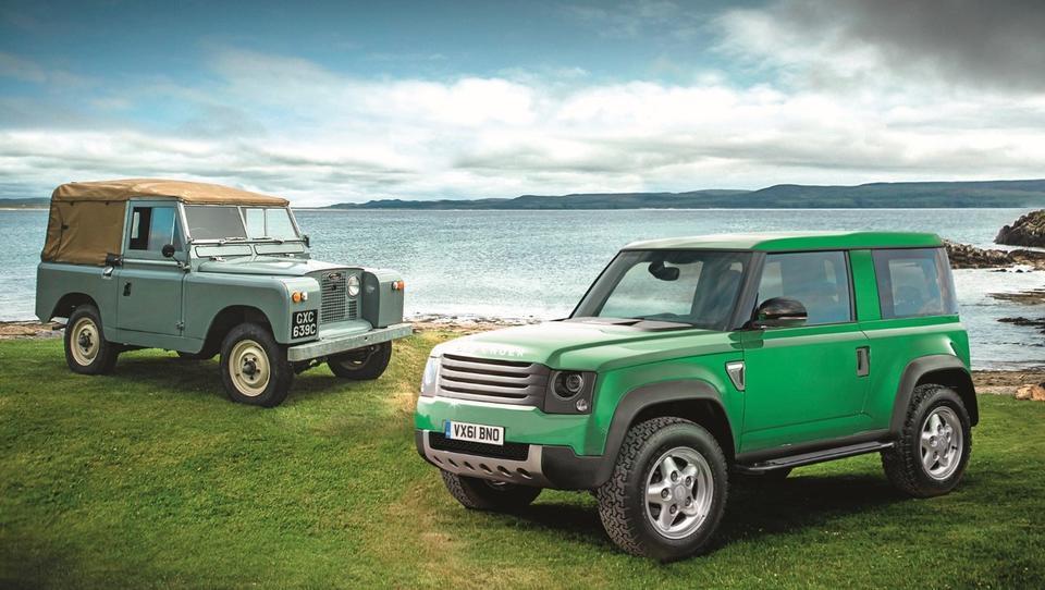 Preporod Jaguarja Land Roverja, novi defender in skupna osnova