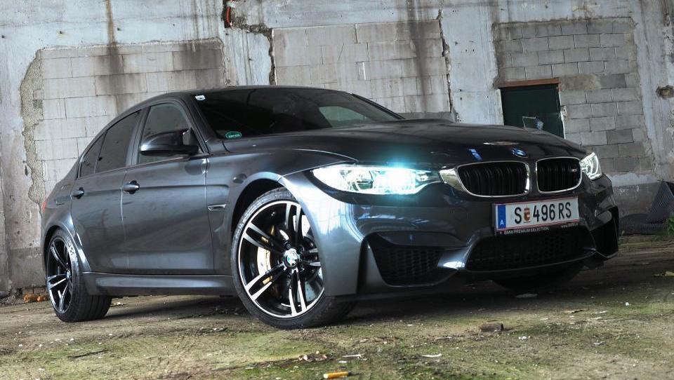 Okoljski predpisi bodo odnesli legendarni BMW M3