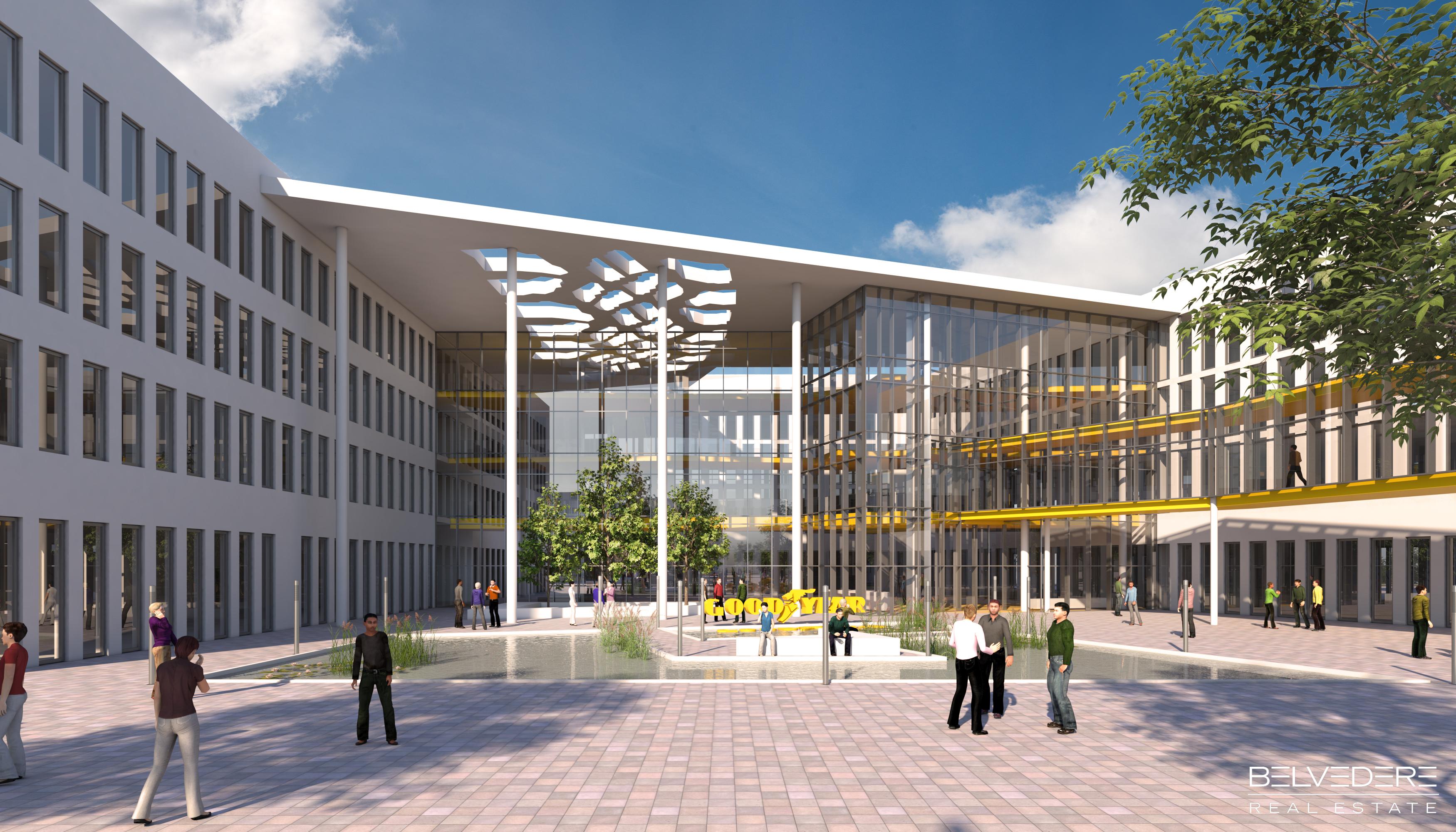 Goodyear skupaj s partnerji v Luksemburgu ustanavlja razvojno-raziskovalni kampus