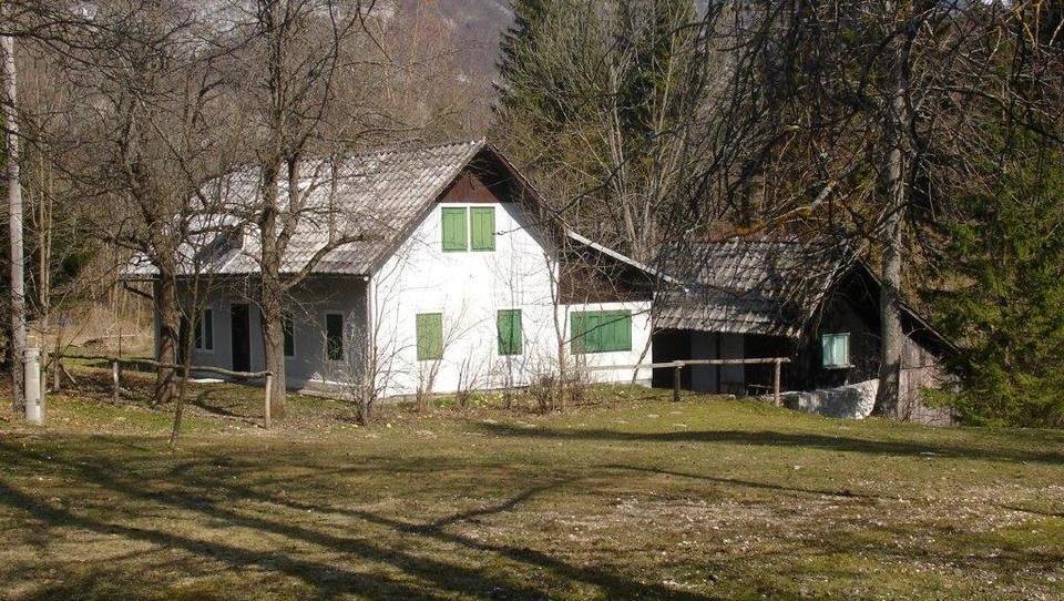 Bi imeli hišo ob Bohinjskem jezeru? Ta se prodaja na dražbi