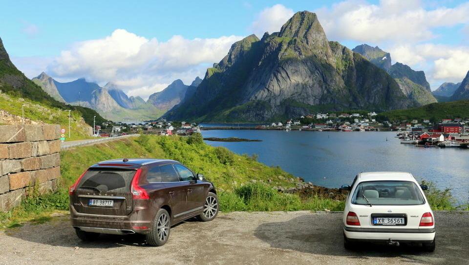 Reportaža: Kaj vozijo bogati, a preudarni Vikingi