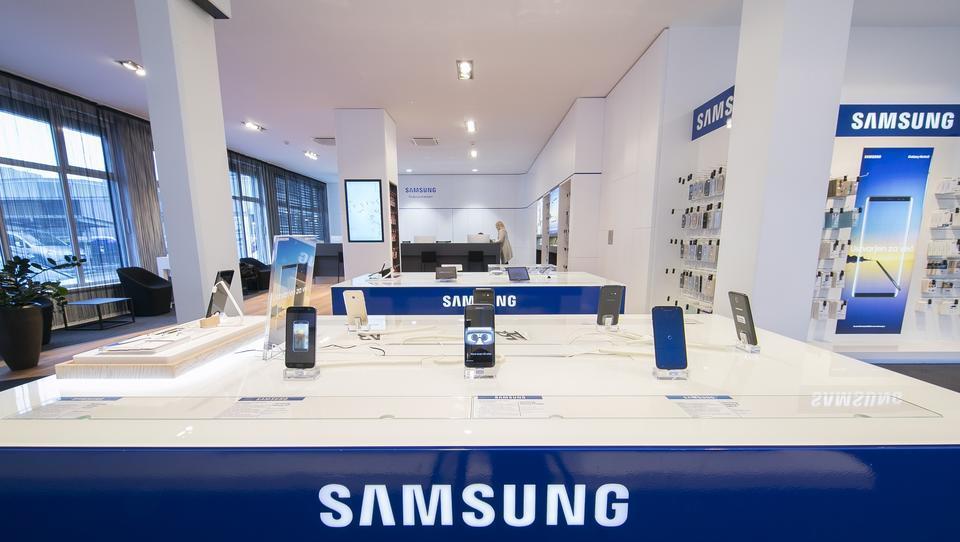 Samsung pričakuje le rahlo rast dobička