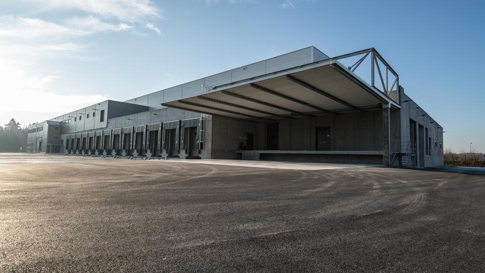 Frigologo je v Komendi za desetrkat povečal skladišče za hlajenje na -20 stopinj