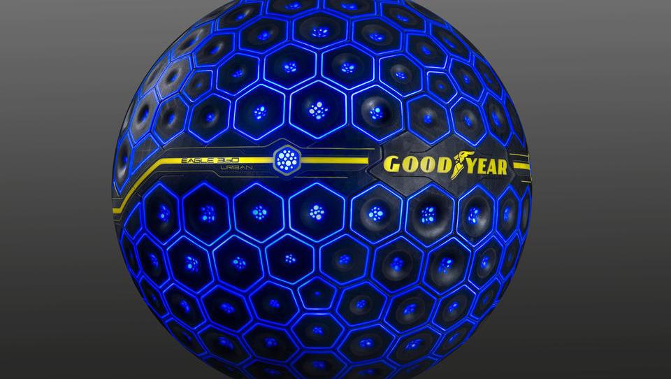Goodyear razkril prvo konceptno pnevmatiko z umetno inteligenco