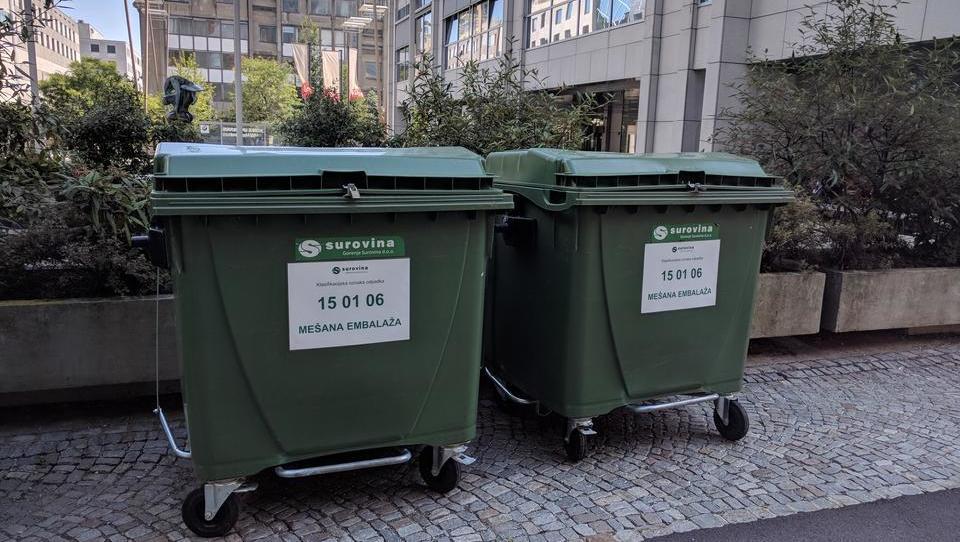 Reciklirati je mogoče samo četrtino odpadne embalaže