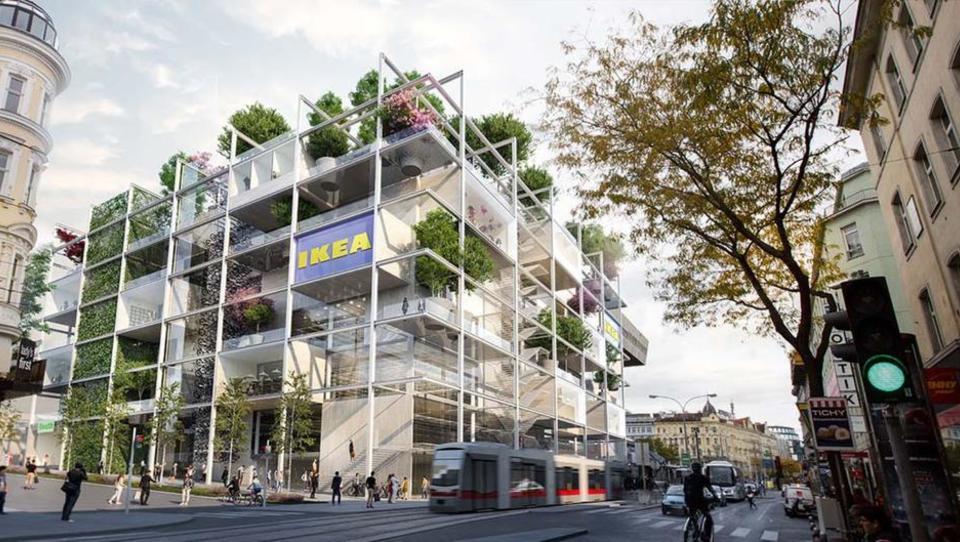 Ikea bo na Dunaju brez parkirišč