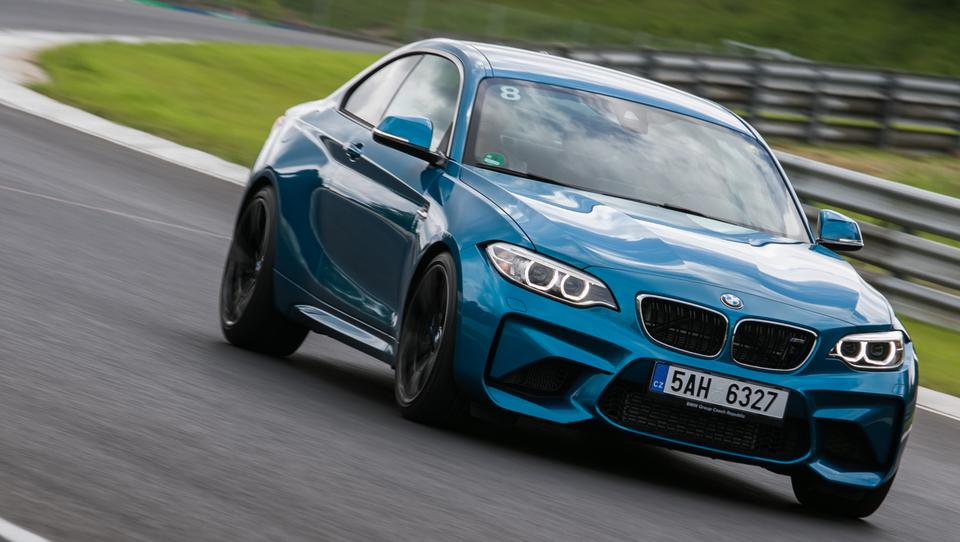 Z divjim BMW M2 po Hungaroringu