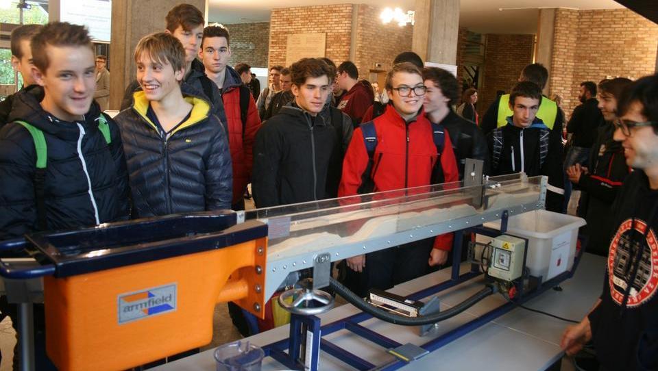 Ljubljanska fakulteta za gradbeništvo gostila 750 dijakov in učencev