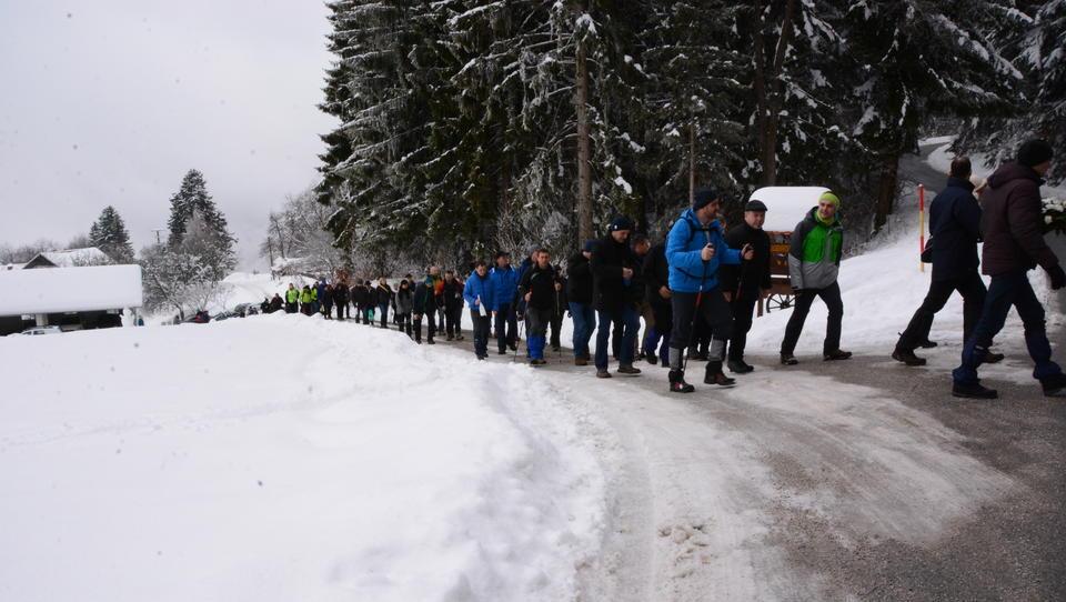 Na Pohorju spominski pohod za sodelavca Elektra Maribor