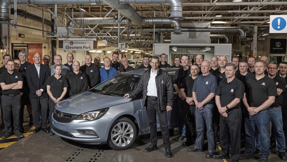 Nova odpuščanja PSA v angleški tovarni Vauxhall