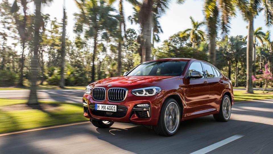 Novi BMW X4: kako je robustni kupe zapeljal v ospredje