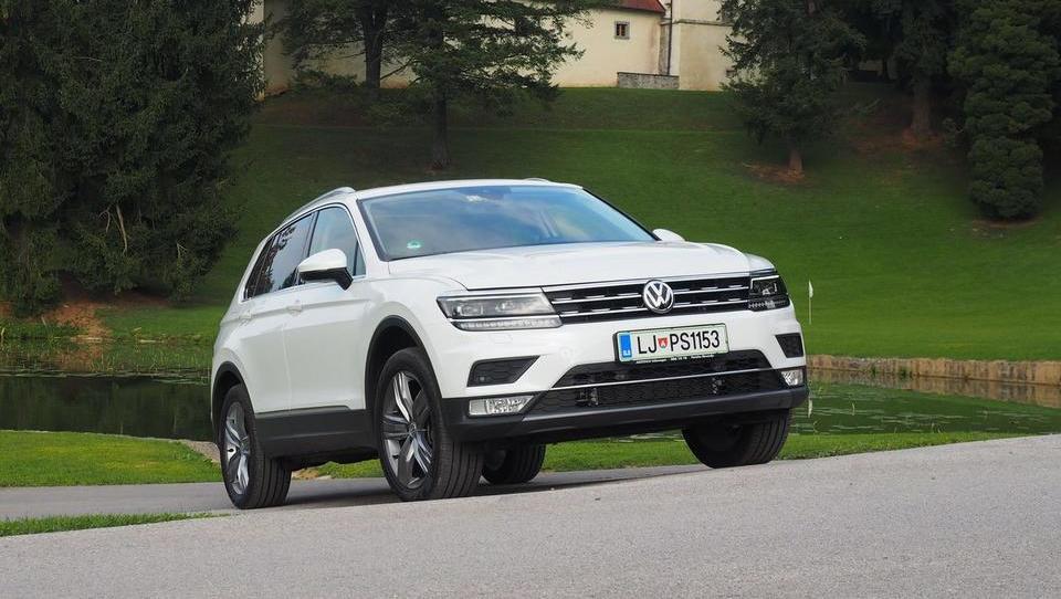 VW tiguan: nič revolucije, ena sama premišljena evolucija