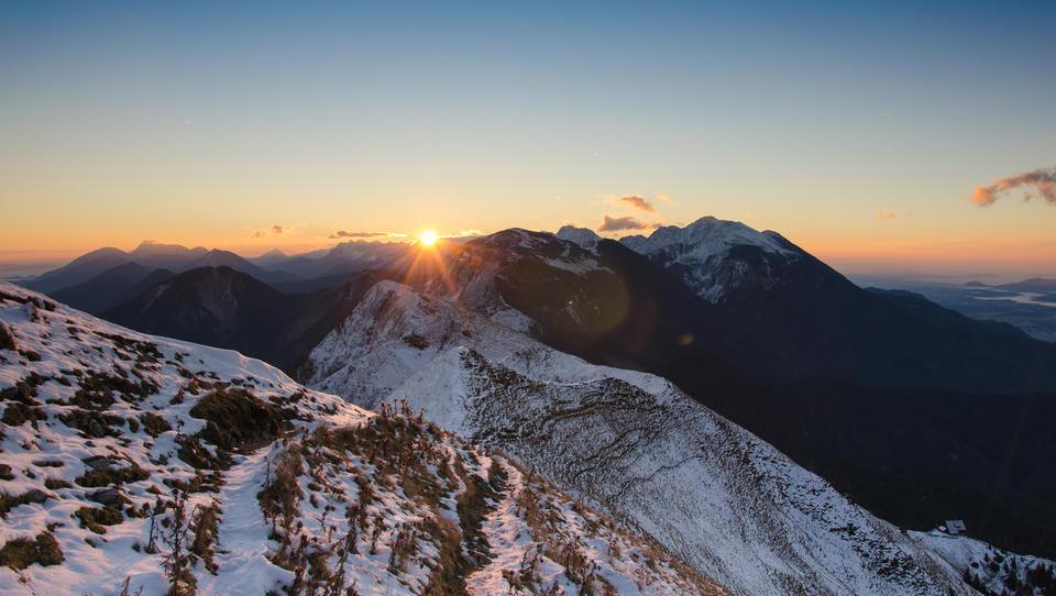 Pet težav na gorskih območjih