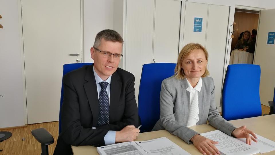 Sloveniji so nastavili podnebno ogledalo