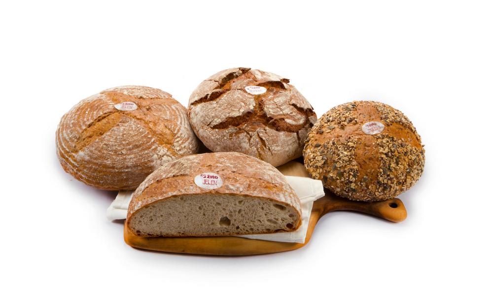 Žitov kruh in pecivo iz slovenske pšenice