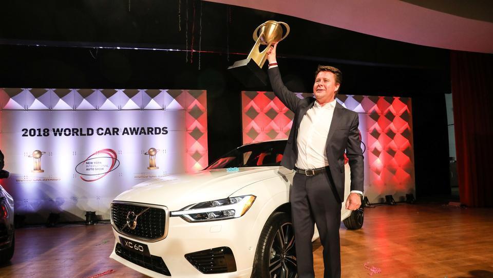 Svetovni avto leta 2018: dvojno slavje v Volvu, kipce prejeli še VW, BMW, Nissan, Audi in Range Rover