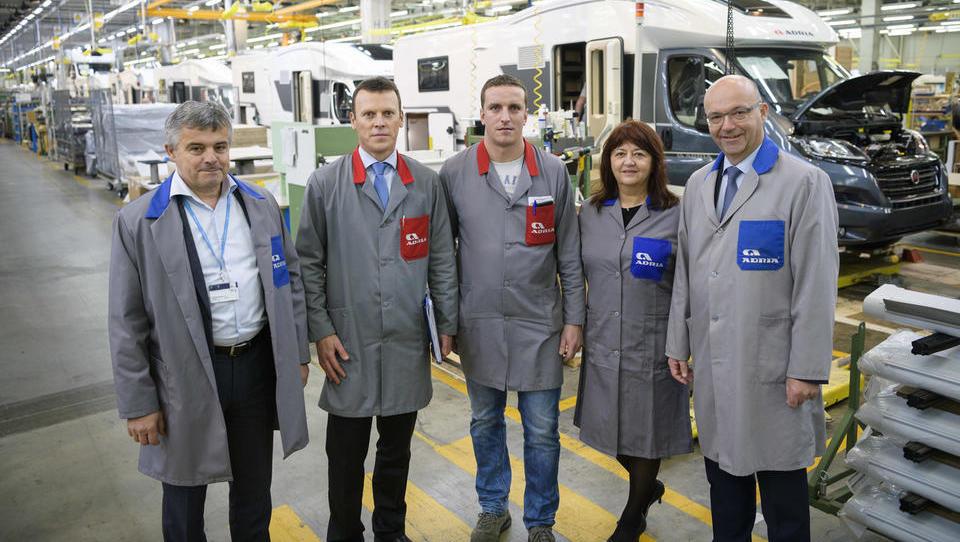 Adut Adrie Mobila je najučinkovitejša in najmodernejša tovarna v Evropi