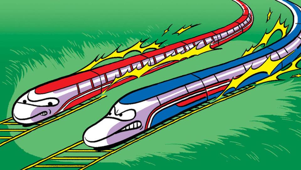 Evropske železnice stavijo na nizkocenovni letalski model