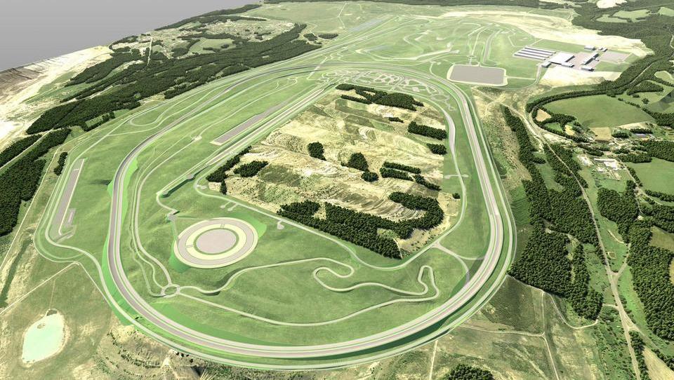BMW v gradnjo novega testnega poligona na Češkem