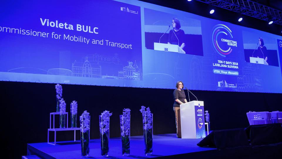 V živo z največjega prometnega dogodka Evropske komisije: Corina Creţu