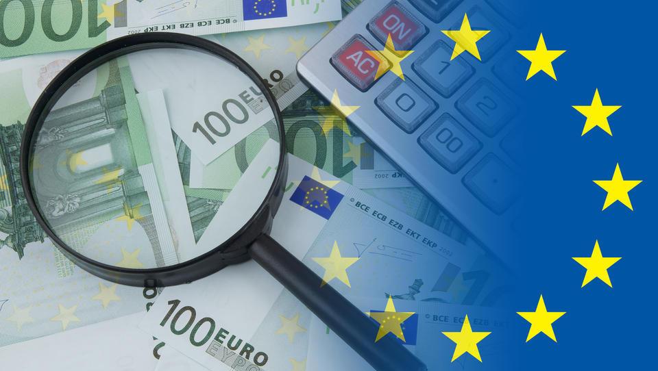 Črpanje denarja EU: v prvi polovici obdobja porabili le 13 odstotkov razpoložljivega denarja