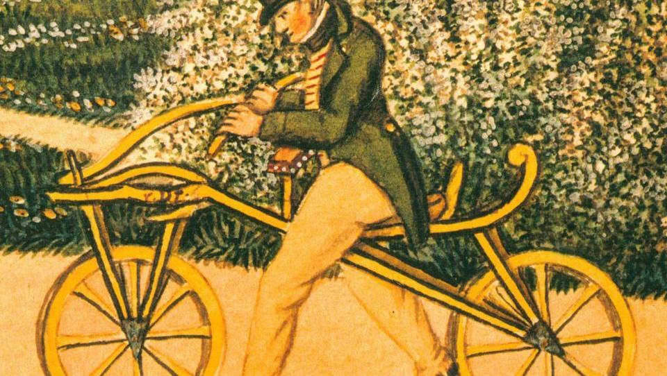 Draisine – »evropska neumnost«, iz katere se je razvilo današnje kolo