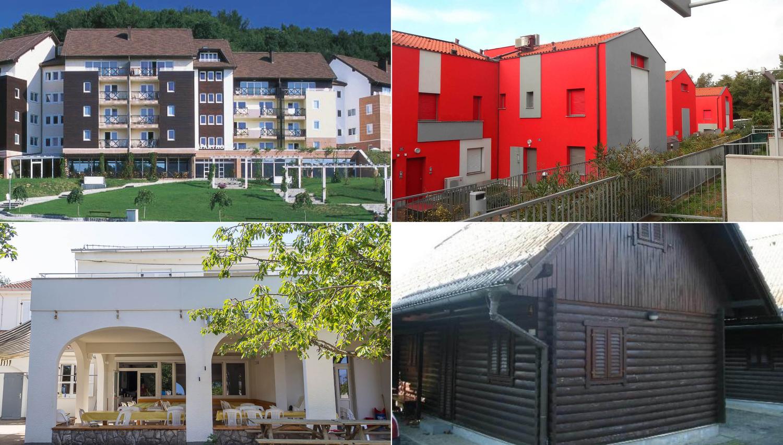 To so apartmaji in počitniške hiše, ki gredo na dražbe v prihodnjem mesecu