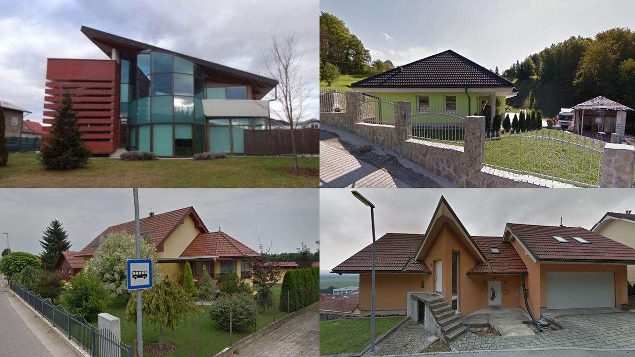 Hiše, ki jih lahko do konca avgusta kupite na dražbah