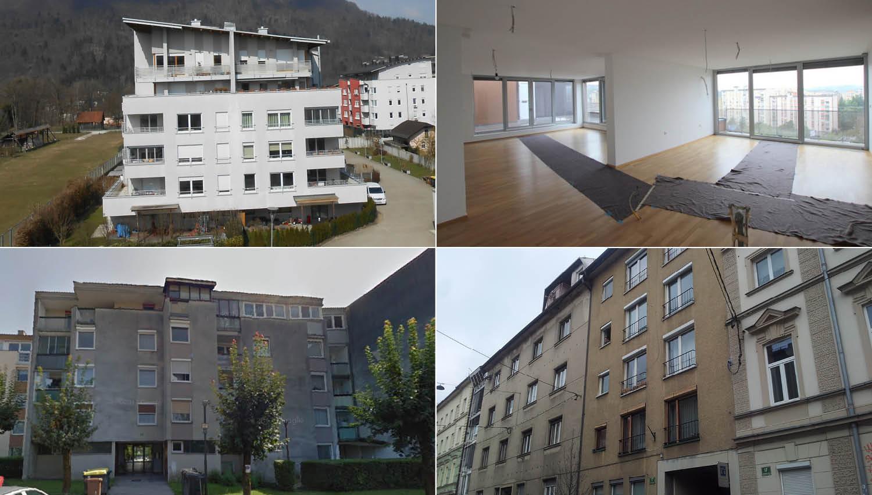 13 stanovanj v Ljubljani, ki jih lahko kupite na dražbah