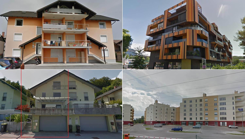 TOP dražbe: stanovanja in večstanovanjska hiša v Ljubljani, Big Bang in stanovanji v Novi Gorici