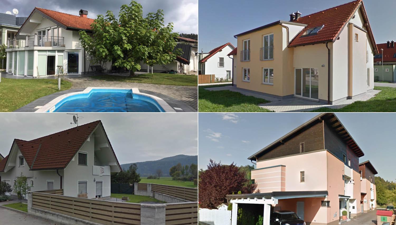 17 hiš, ki bodo aprila na voljo na dražbah
