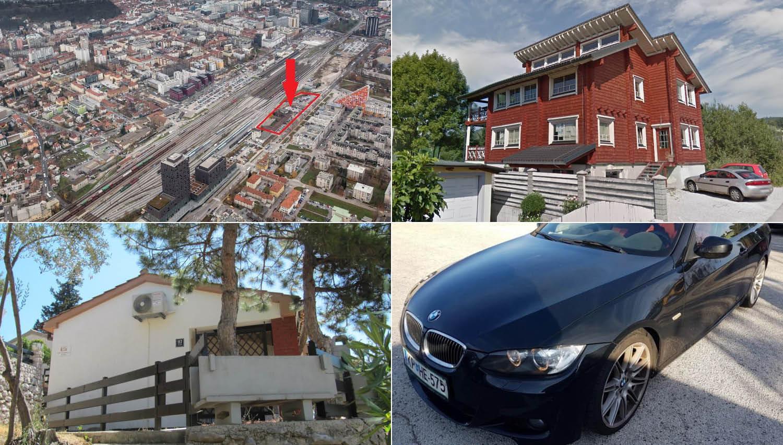 Ne spreglejte teh dražb v septembru! Naprodaj hiša na Cresu, stanovanja v Ljubljani, zemljišča, avti, umetnine …