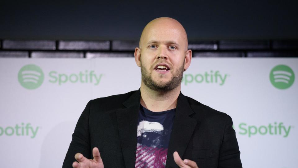 Spotify navdušil vlagatelje v črnih borznih dneh