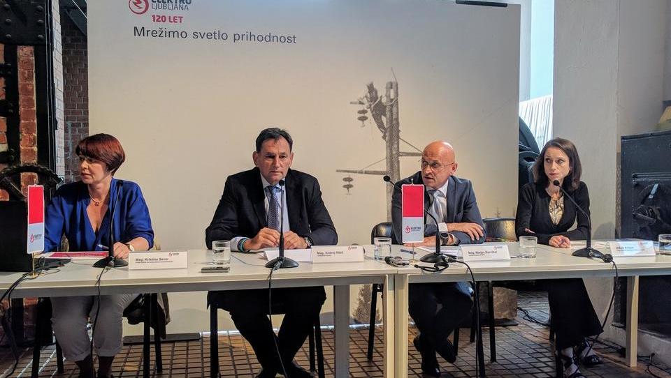 Elektro Ljubljana: več pametnih števcev in e-polnilnic