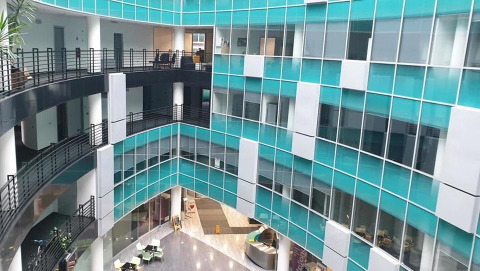 (Nepremičnina tedna) Pisarniški prostori v stavbi Eurocenter