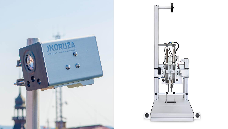 S subvencijo razvijajo optični brezžični sistem za dostop do interneta ter energetsko varčne stroje za pakiranje