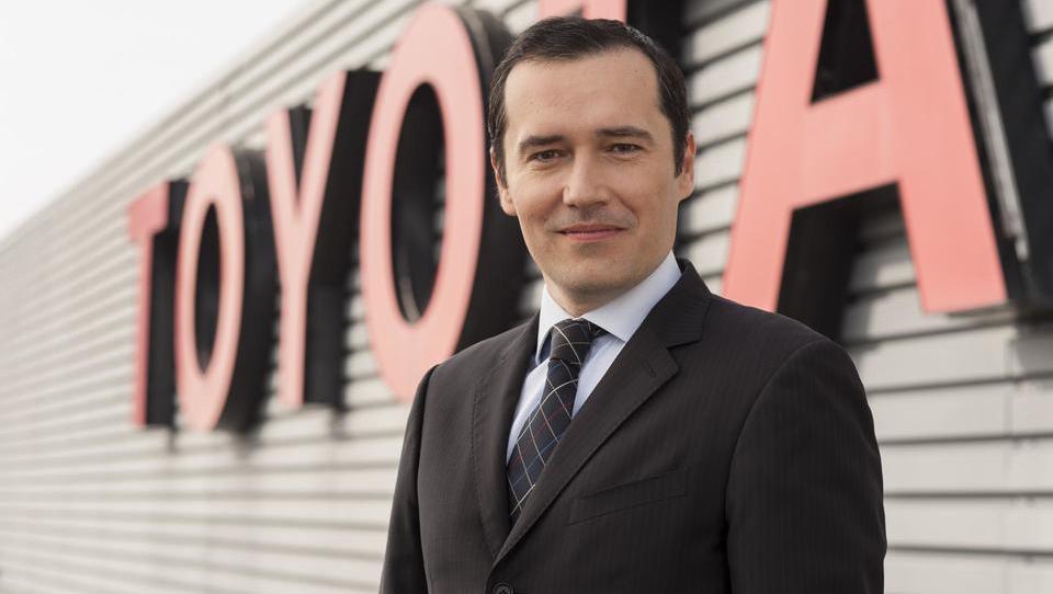 Toyota je Slovencu zaupala razvoj prihodnosti