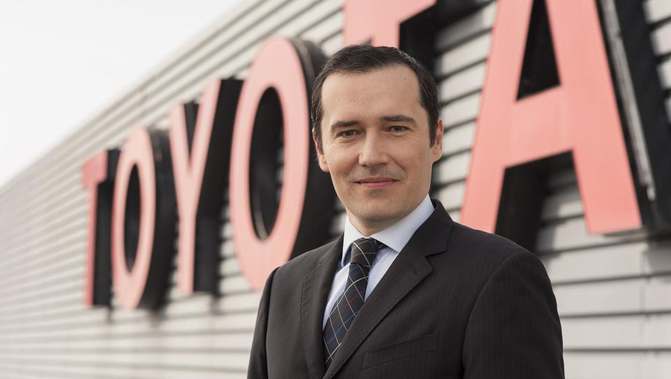 Toyota je razvoj prihodnosti zaupala Slovencu Tomu Fuxu