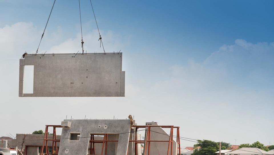 Prefabricirani gradbeni elementi imajo vse večjo veljavo