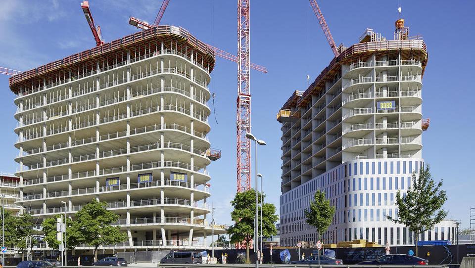 Evropsko gradbeništvo raste - v Sloveniji zaznali upad gradbenih del