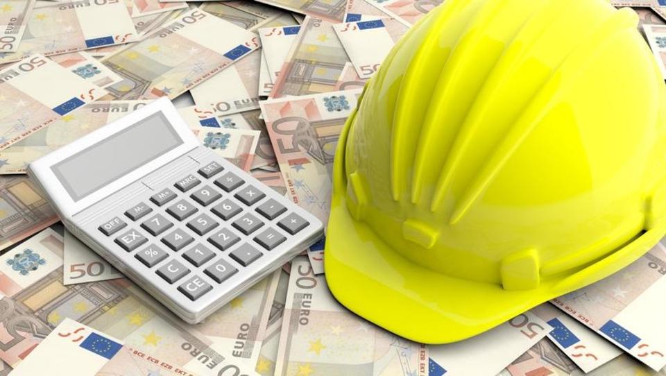 Četrtletna vrednost opravljenih gradbenih del v letu dni močno zrasla
