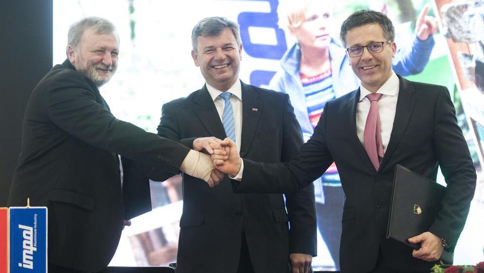 Impol: končno podpisan sporazum za novo obvoznico in kablovod!