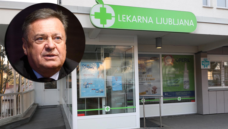 Jankovićev MOL ne spusti niti delčka Lekarne Ljubljana iz rok