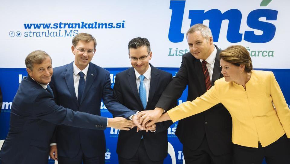 Koalicijska pogodba pod streho, znani ministrski kandidati