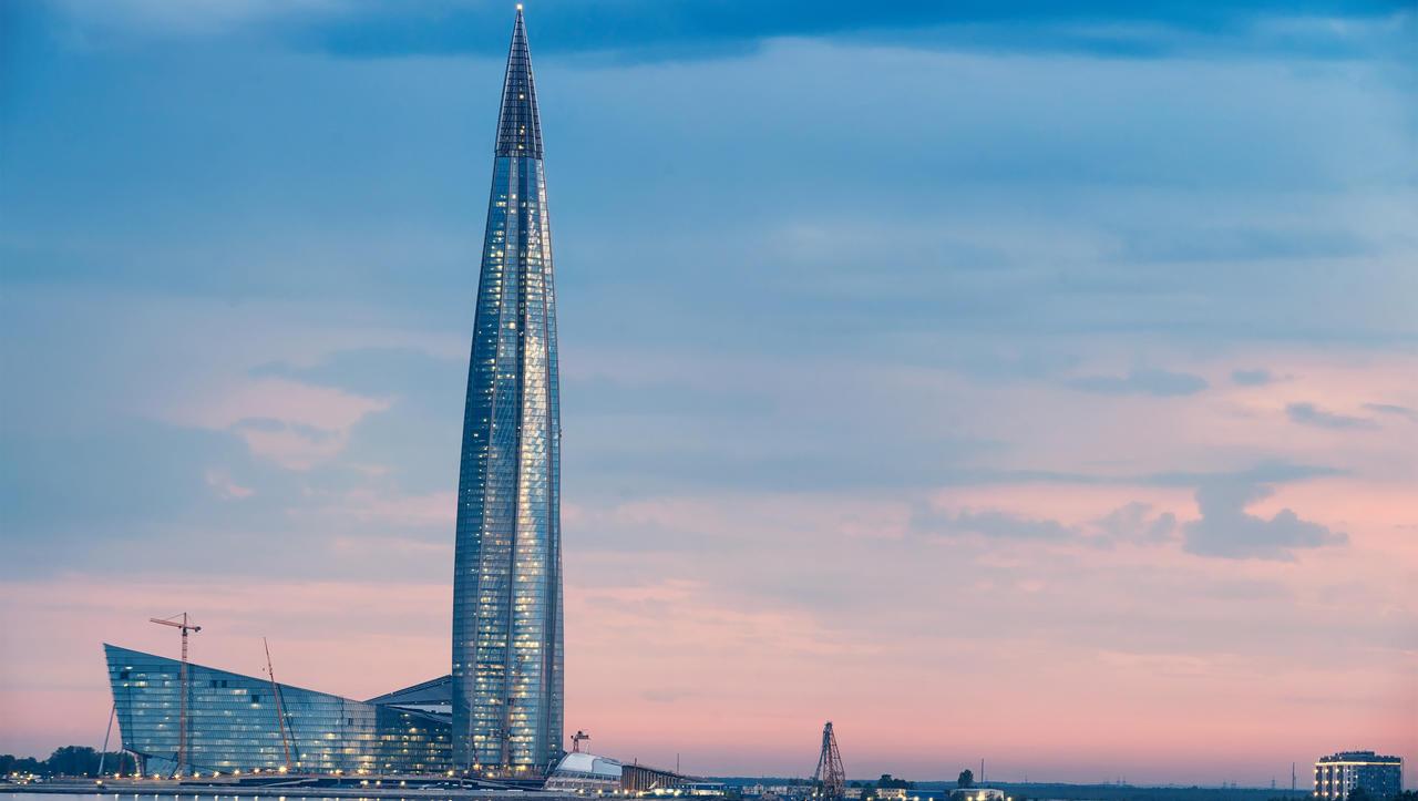 Gazprom zgradil največjo stolpnico v Evropi